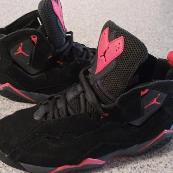 low priced 70402 2a622 Kids NIKE AIR JORDAN: Pink/Black Breast Cancer